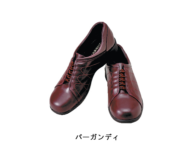 婦人靴706型 バーガンディー